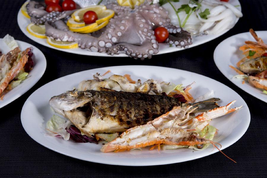 grigliata di pesce bs