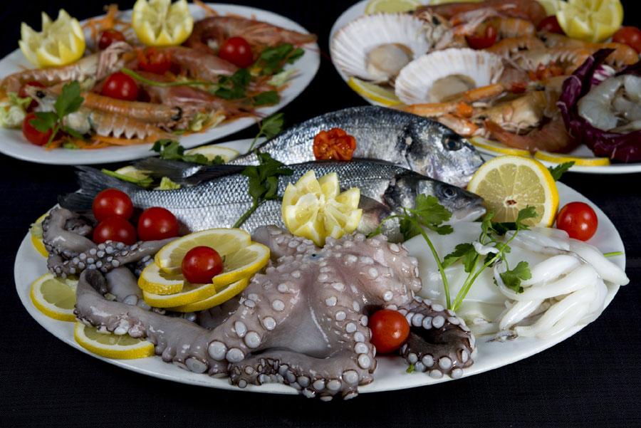 piatti di pesce fresco brescia