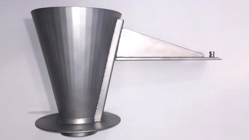 Stainless steel funnels for packaging Bergamo