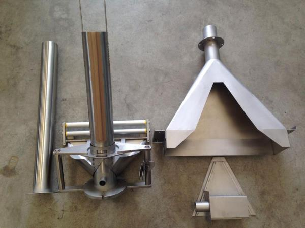 Stainless steel collars for packing Bergamo