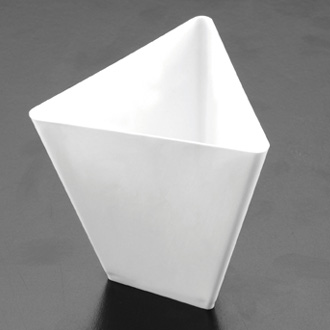 Bicchierino Coppetta P.S. Triangolo in Bianco 80 cc  Paperplast a Sesto San Giovanni Milano