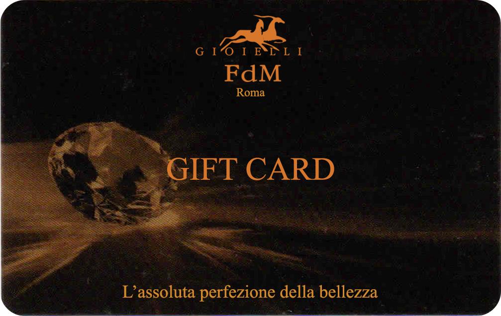 gift card f.d.m. gioielli roma prati