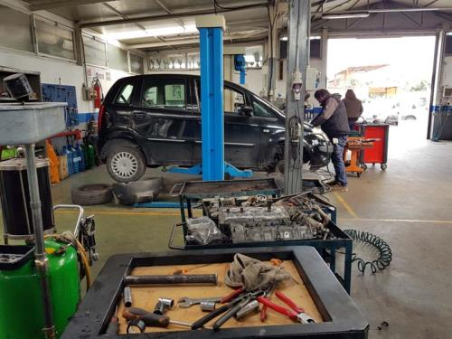 officina meccanica auto Roma Cecchignola