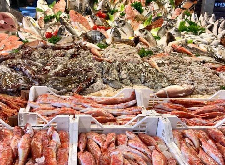 Pesce fresco e frutti di mare - Pescheria Pisano Palermo