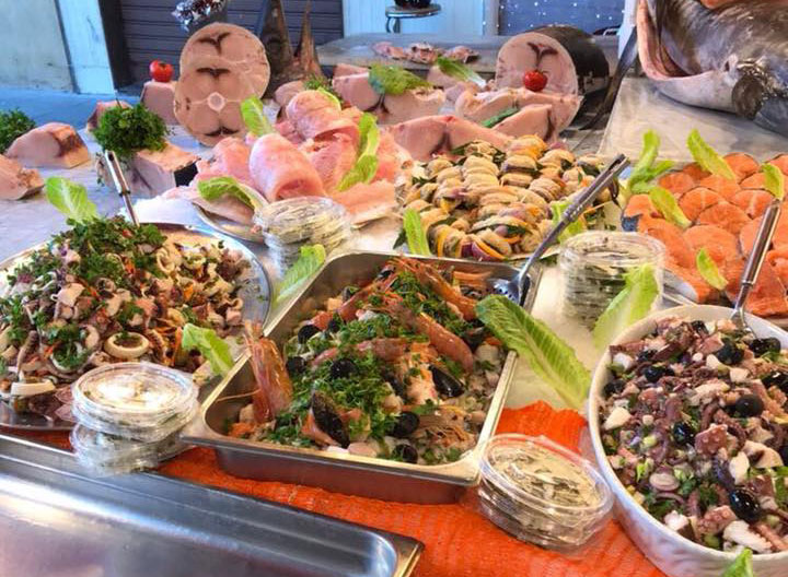 Preparati di pesce - Pescheria Pisano Palermo