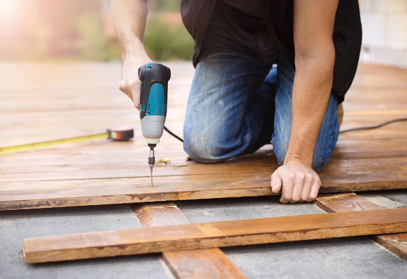 posa pavimenti in legno per interno ed esterno bergamo