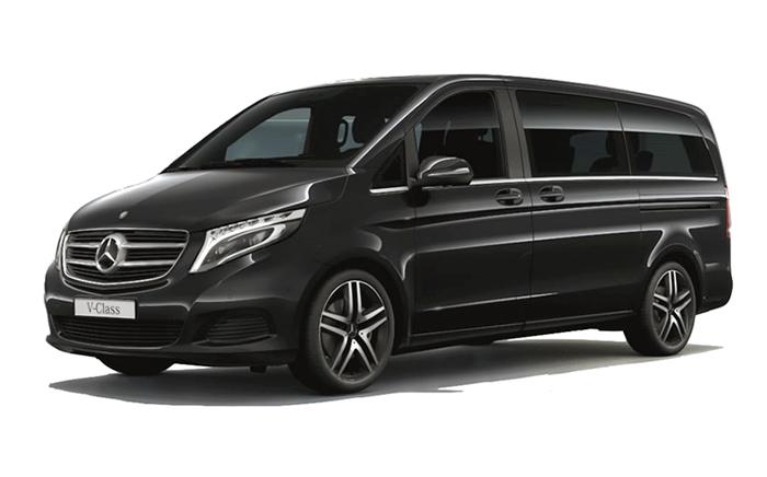 Noleggio Minivan Mercedes 5 Pax