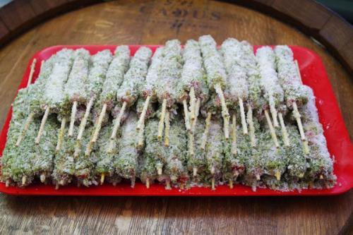 arrosticini pronti per la cottura, macelleria spresiano