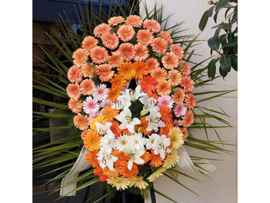 corone di fiori agenzia funebre lupo alcamo