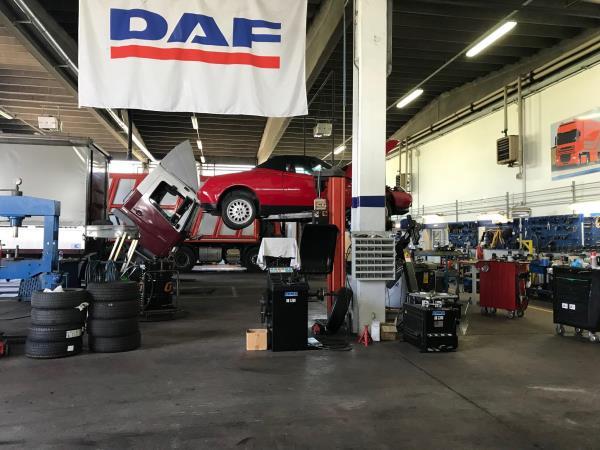 Officina veicoli industriali Parma