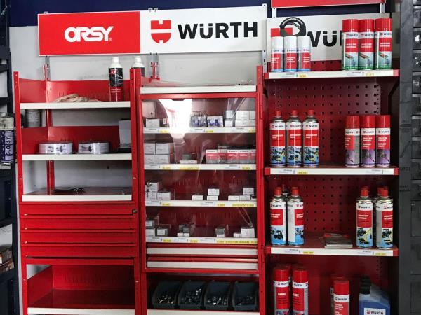 rivenditore prodotti wurth parma