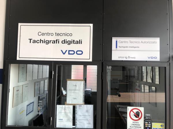 Centro tecnico tachigrafi digitali VDO Parma