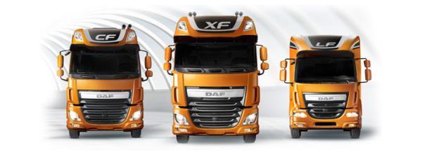 Assistenza veicoli industriali DAF Parma