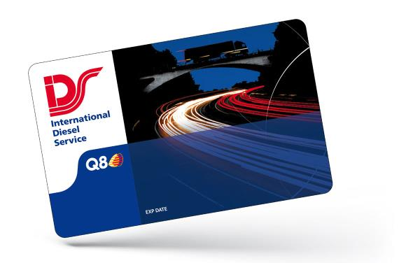 international diesel service card