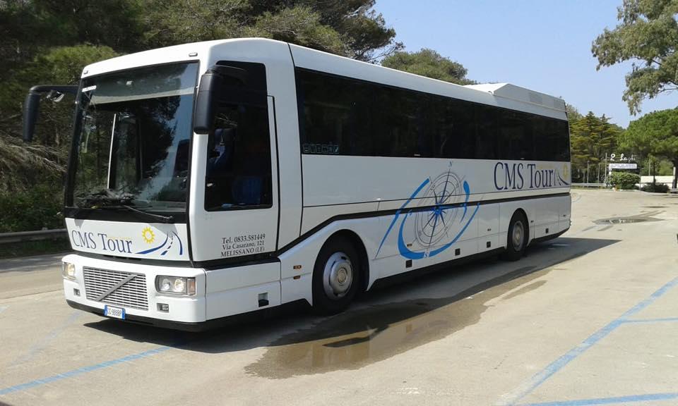 noleggio bus fino a 52 persone salento