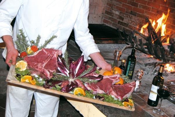 agriturismo con cucina raffinata viterbo