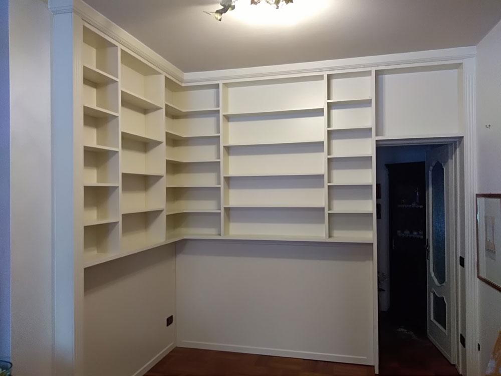 libreria laccata brescia