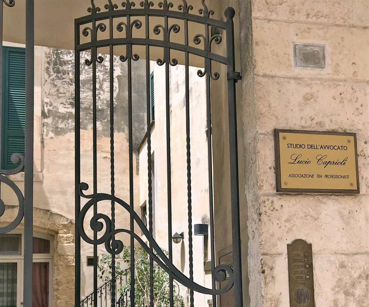 Studio Legale Lucio Caprioli Lecce