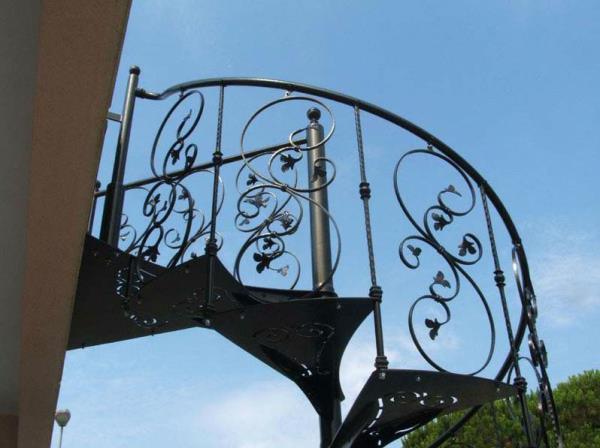 Produzione scale a chiocciola Lecce