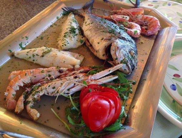 ristorante specialità di pesce Grosseto