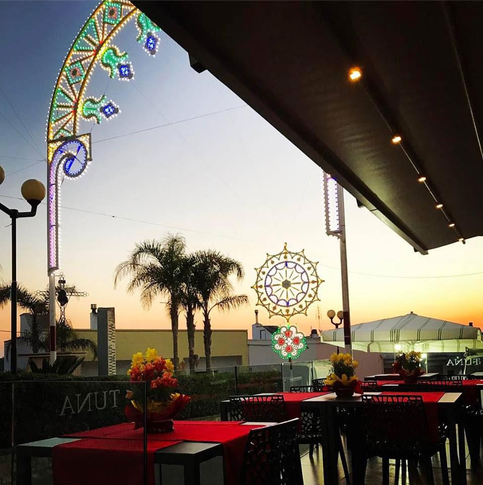ristorante per eventi e cerimonie castro