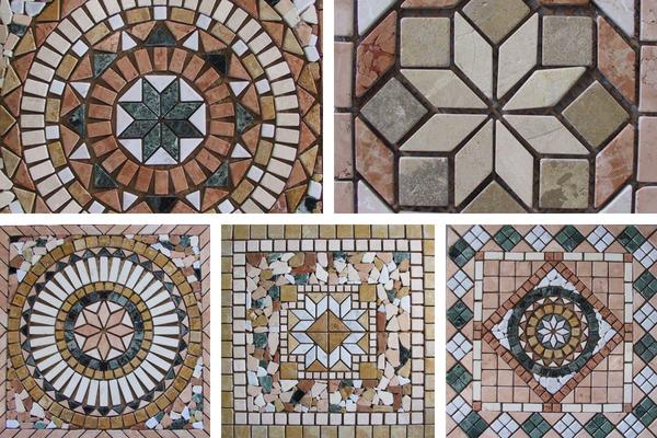 mosaici e rosoni aprilia