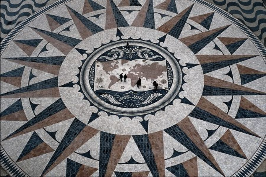 piazze pavimenti mosaico