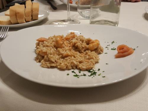 primi piatti di pesce Azzano San Paolo