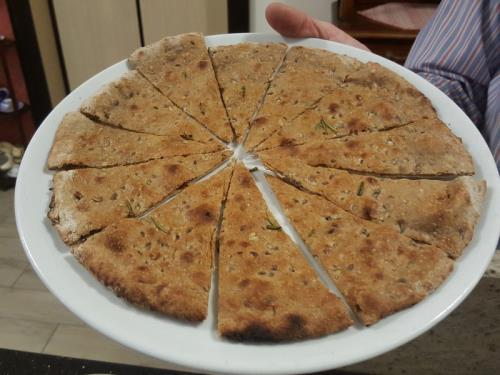Pizza focaccia Azzano San Paolo