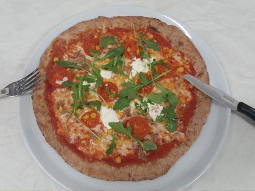 Pizza ingredienti altamente digeribili Azzano San Paolo
