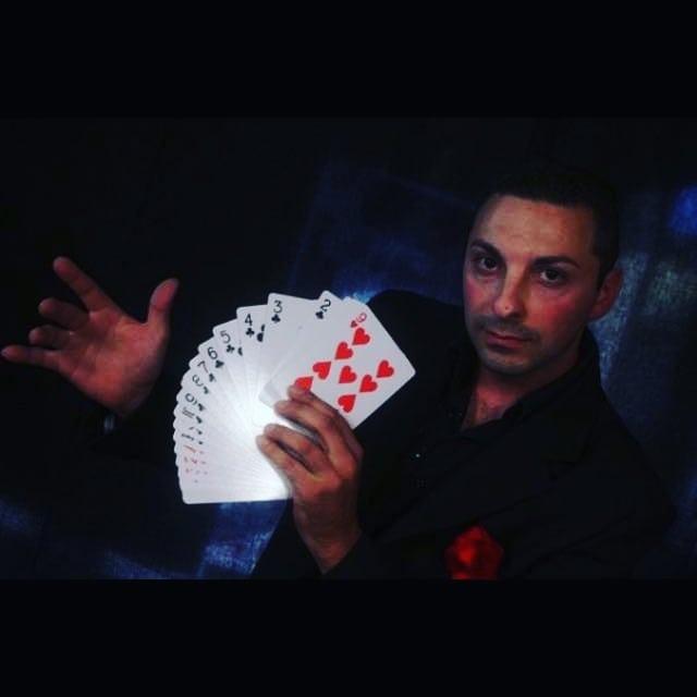 spettacolo con mago bs