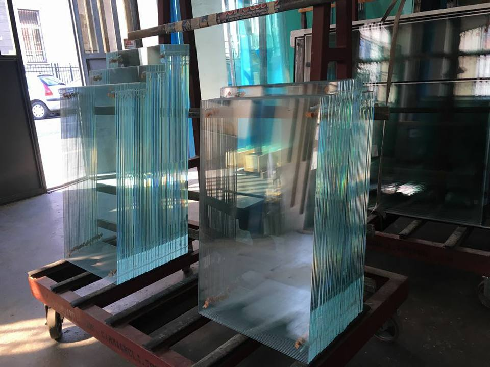 lavorazione del vetro