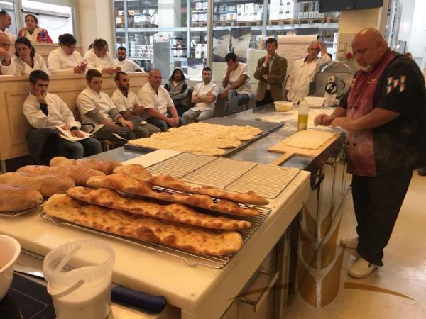 bakers course lazio