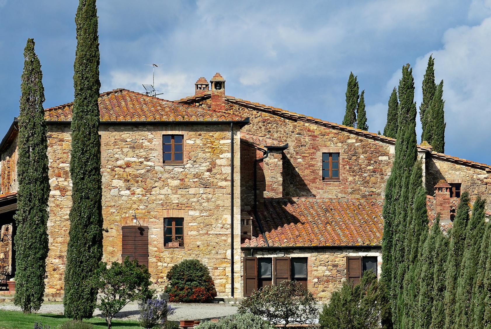 Schönes renoviertes Dorf