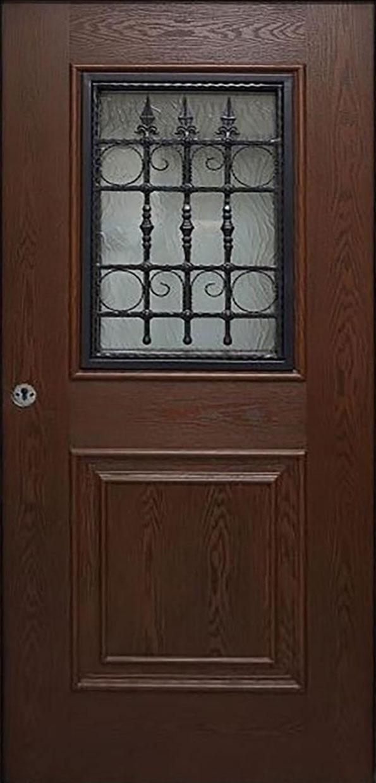 porta in vetroresina
