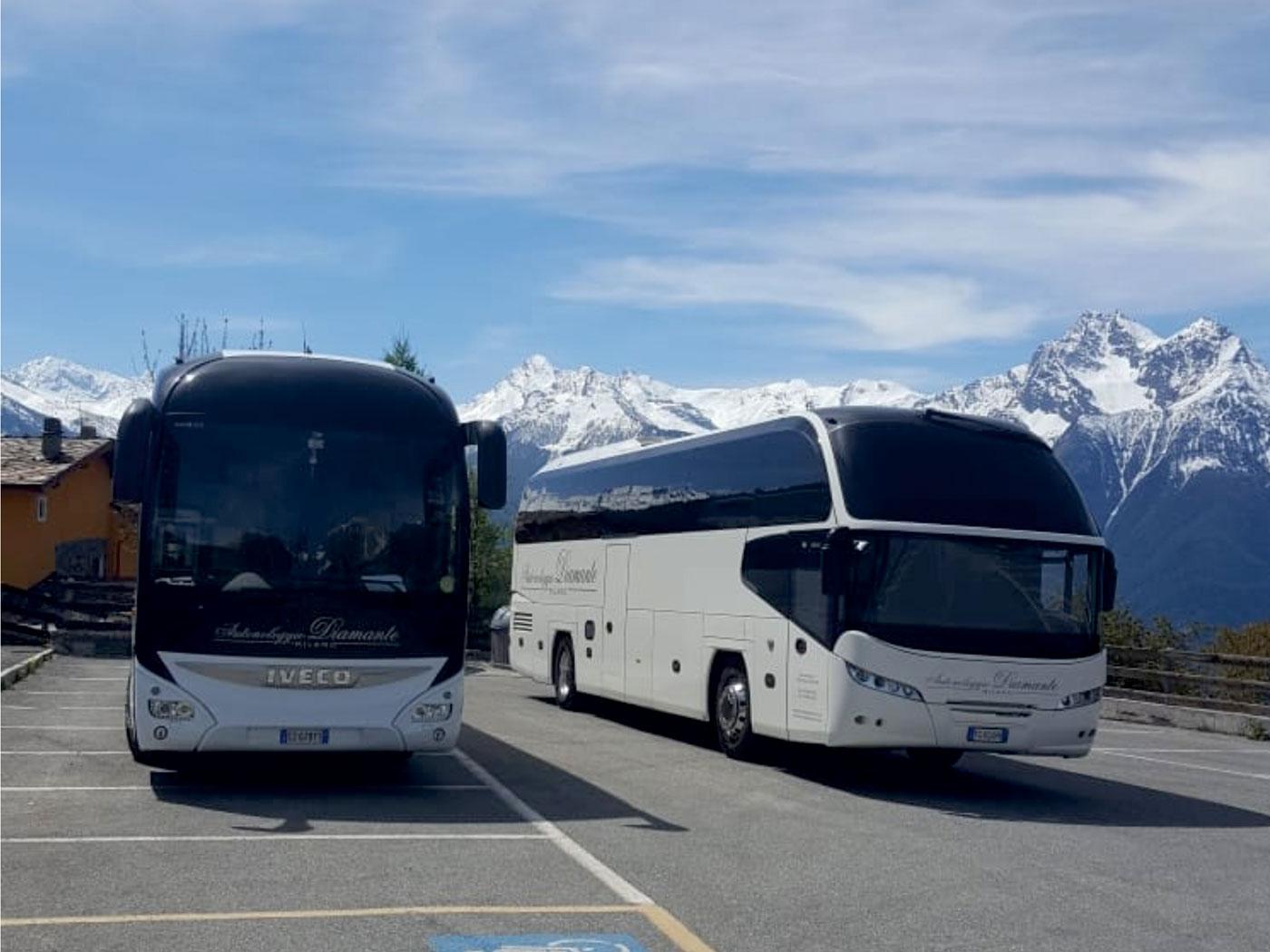 tour italia estero in pullman