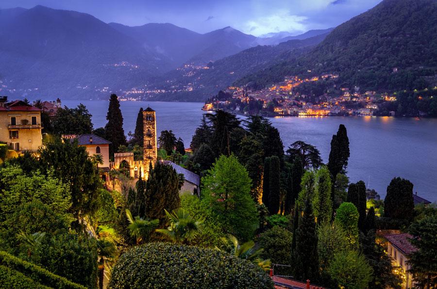albergo vicino Lago di Como