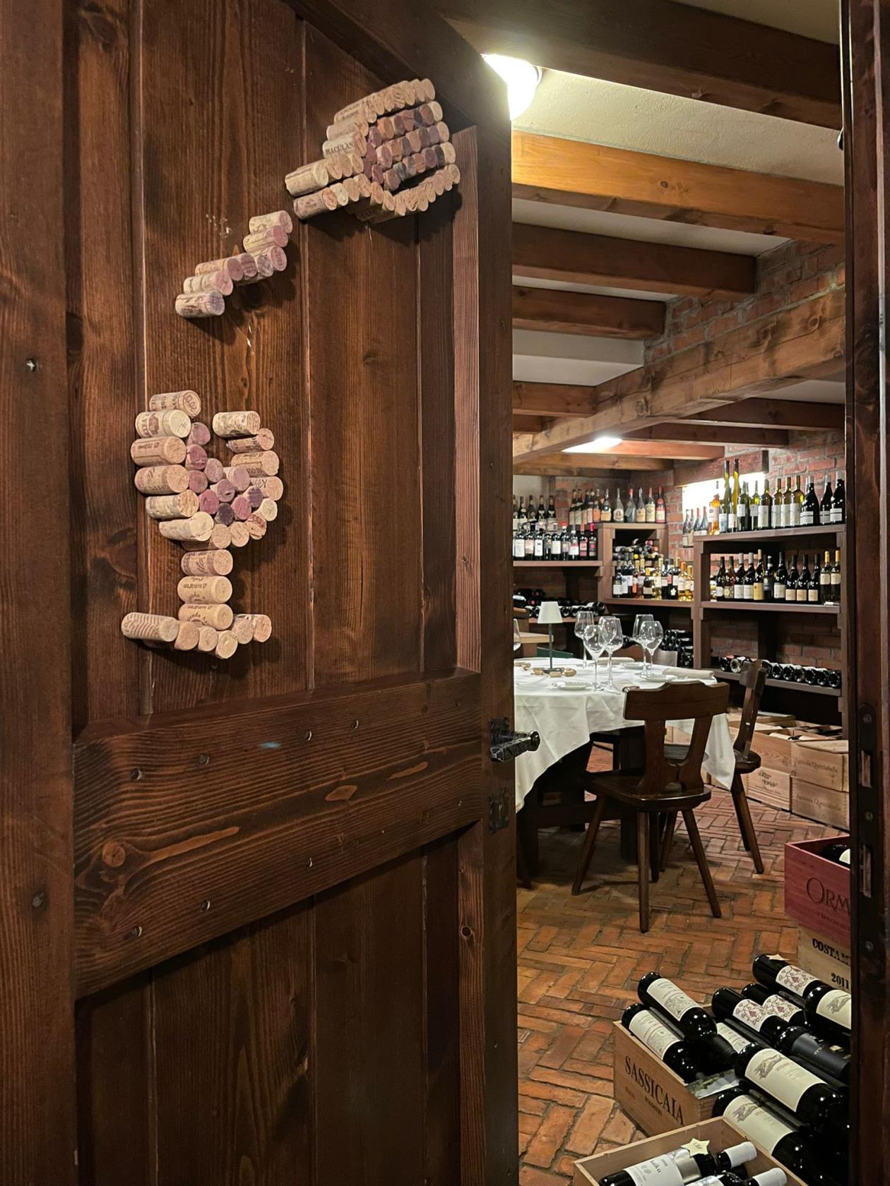 ristorante con cantina dei vini Gorlago Bergamo