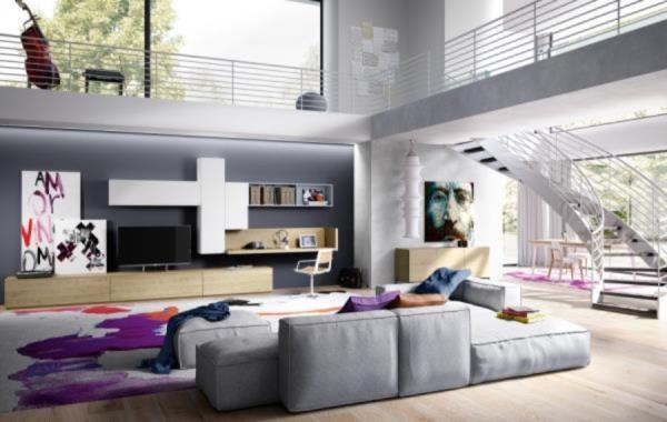 mobili moderni per il soggiorno Lentini