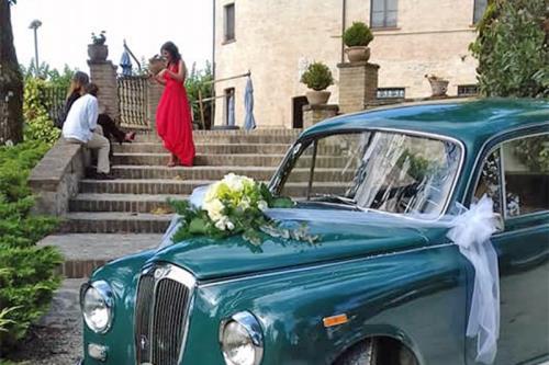 fiori auto sposi
