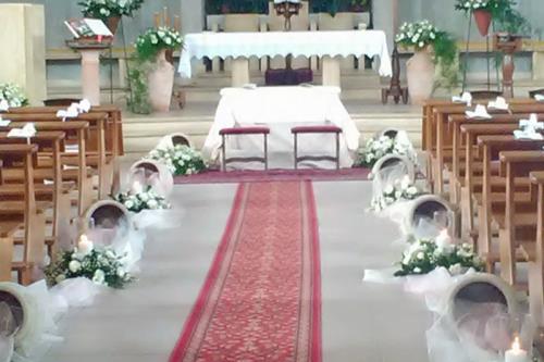 addobbi floreali nozze e cerimonie