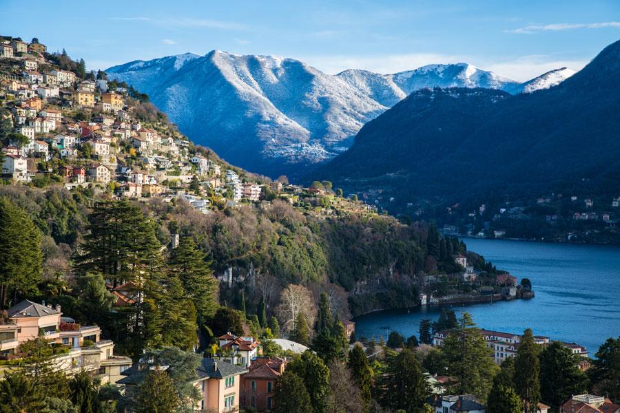 Location for events Lake Como