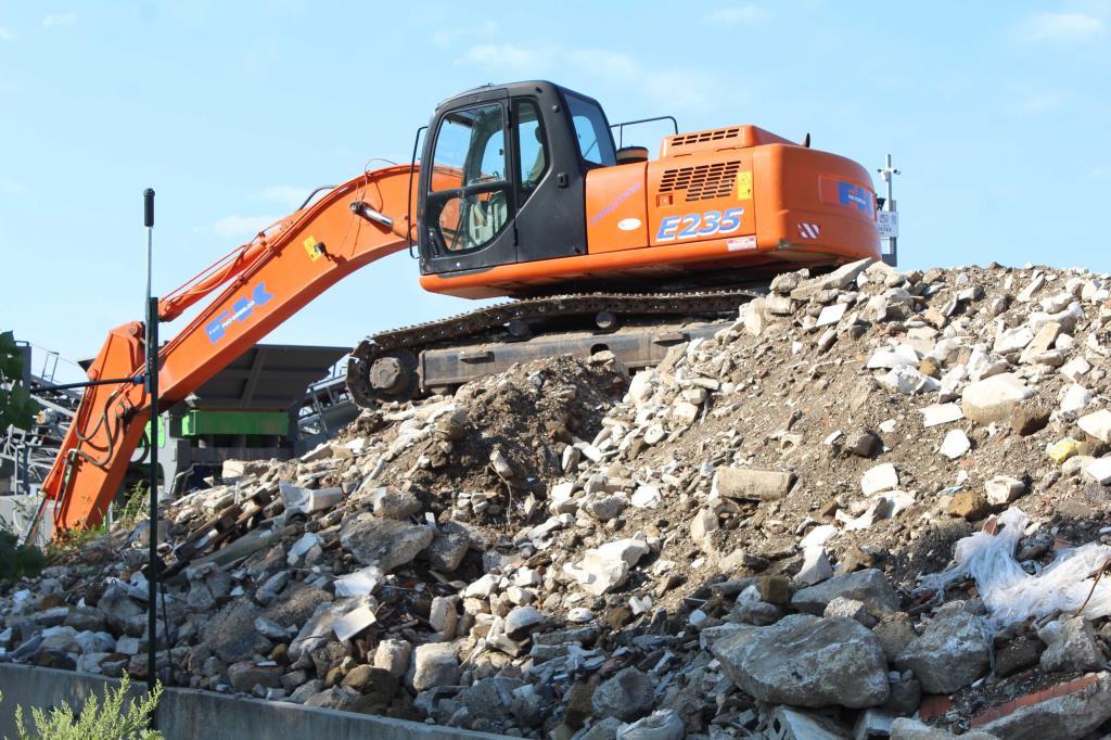 Ritiro materiale da demolizione