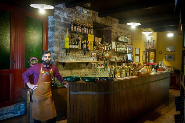 ristorante vini in grotta