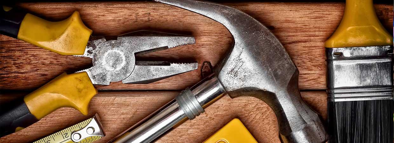 Ampio rifornimento di ferramenta