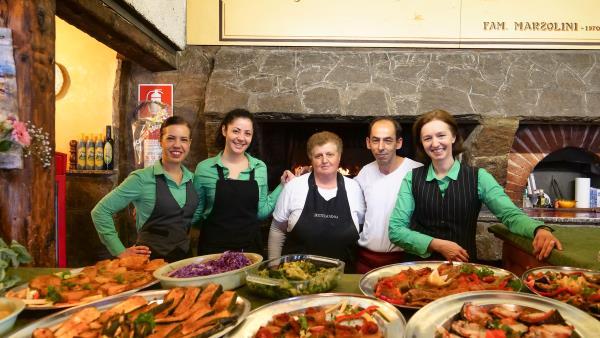 ristorante con cucina abruzzese Oricola L