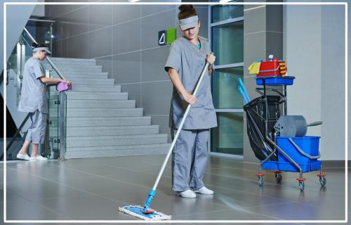 Servizi alle imprese e pulizia magazzini pubblici e privati Dogliola (CH)