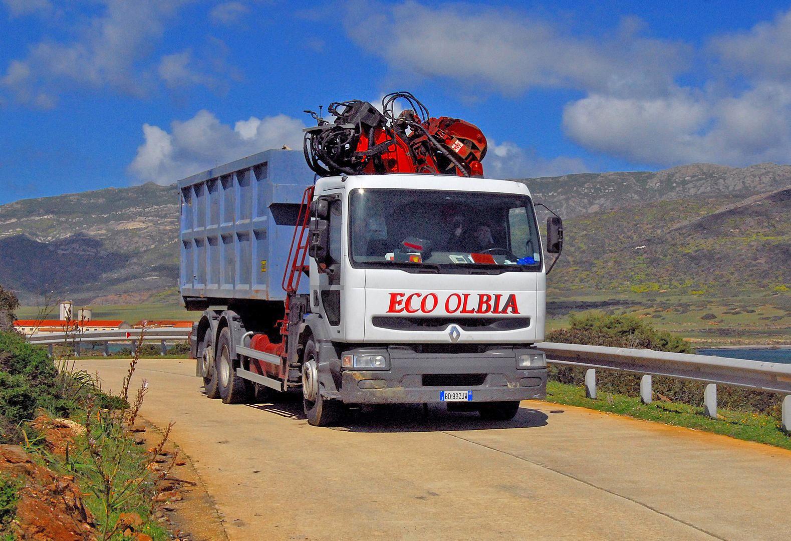 trasporto rifiuti speciali olbia