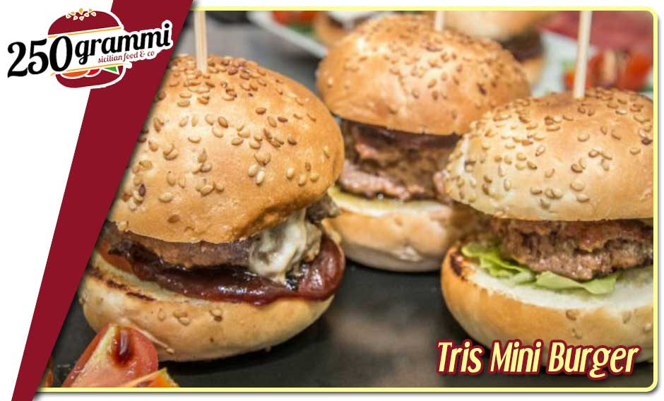 Tris mini burger
