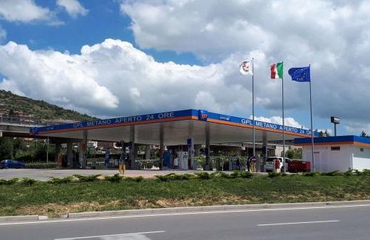 distributori carburante con bar Perugia
